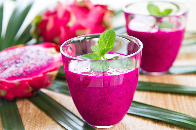 Try This Dragon Fruit Mango Smoothie For Stronger Bones and Nervous System Support!