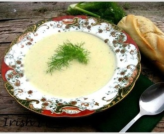 Cream of fennel soup / Fenchelcremesuppe