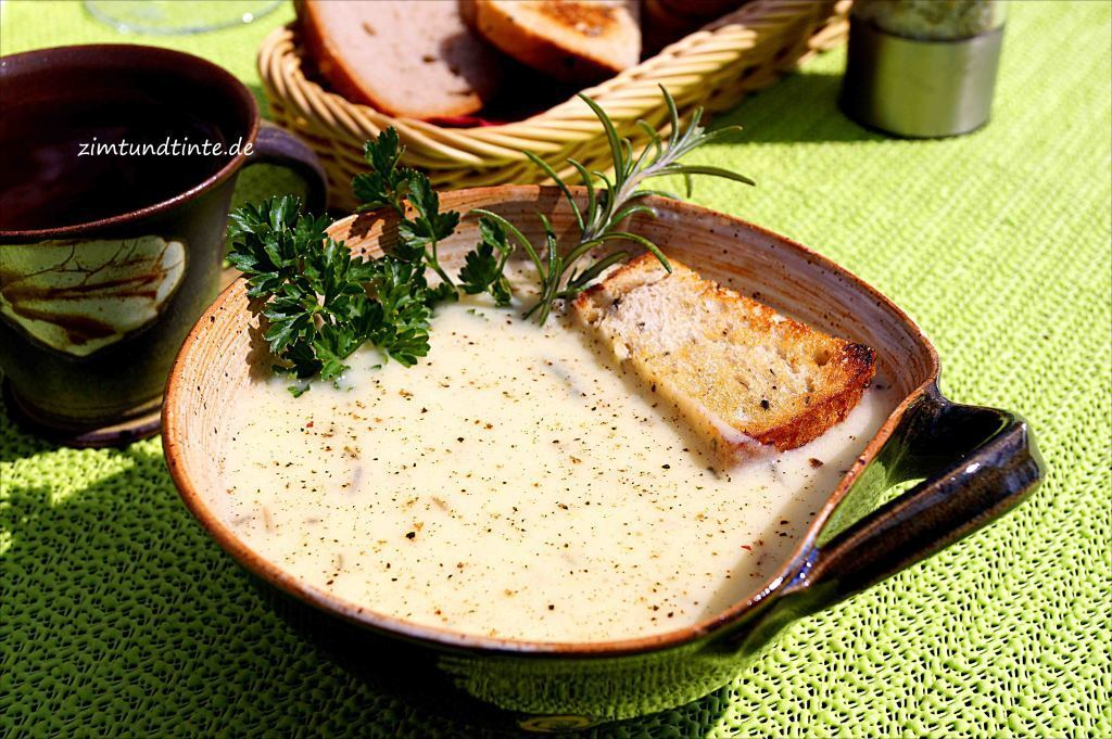 Parmesan-Kartoffel-Suppe (Thermomix TM 31)