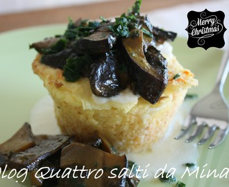 MINI GATEAU DI PATATE FARCITO (menu' Natale)