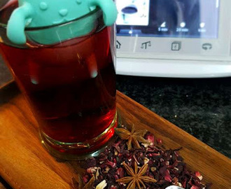 INFUSION DE HIBISCO EN THERMOMIX  ®