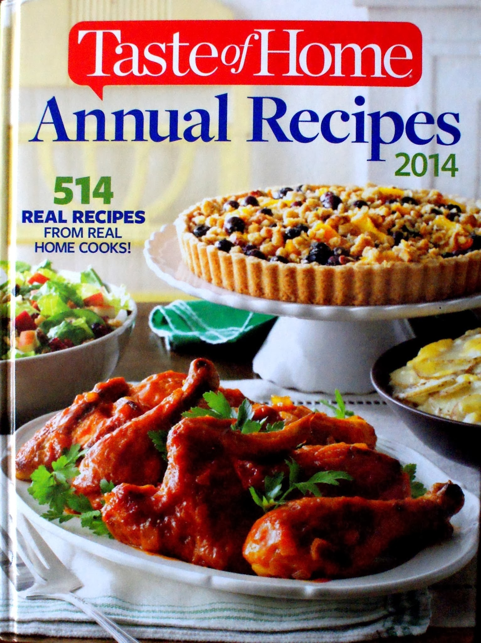 Cookbook Review: 2014 Taste of Home Annual Recipes