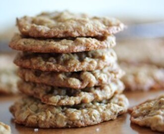 Salty Caramel and Pecan Oatmeal Cookies