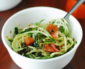 Cucumber Pasta Salad – Low Carb
