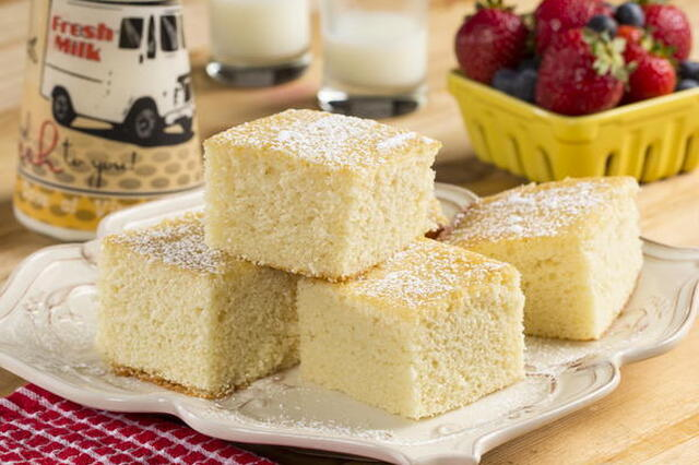 OLD FASHION HOT MILK CAKE
