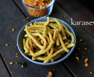 karasev recipe | kara sev recipe | besan sev recipe