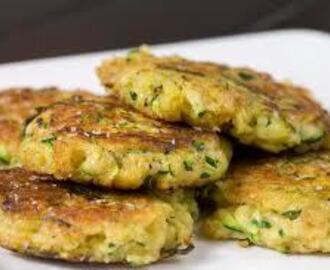 "Fried Zucchini ""Cakes"" - a savory side dish"
