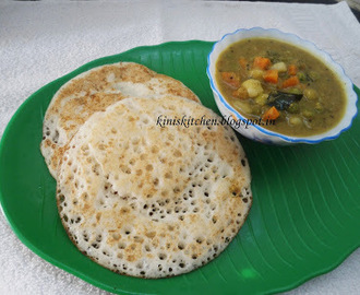 Kini's Kitchen..SET DOSA KARNATAKA STYLE