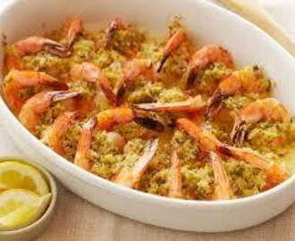Broiled Buttery Shrimp - Weekend Recipe