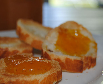 Confiture orange papaye et vanille