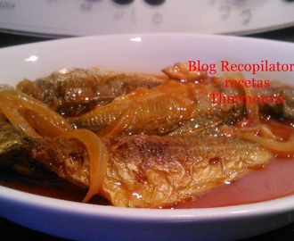 Jureles en escabeche thermomix