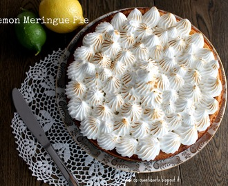 Lemon Meringue Pie - La ricetta di BakeOff