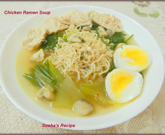 Chicken Ramen Soup#Foodieextravaganza