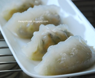Steamed Vegetable Dumplings (Chai Kueh)