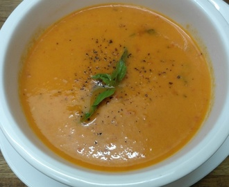 Spicy Tomato & Basil Soup