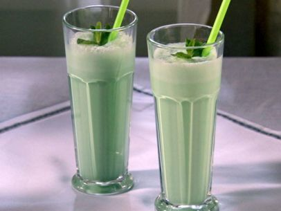 Grasshopper Ice Cream Cocktail