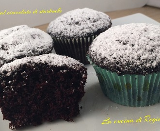 Muffin al cioccolato di Starbucks