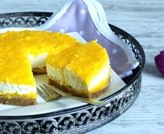 ♡ Lowcarb No Bake Mango Torte