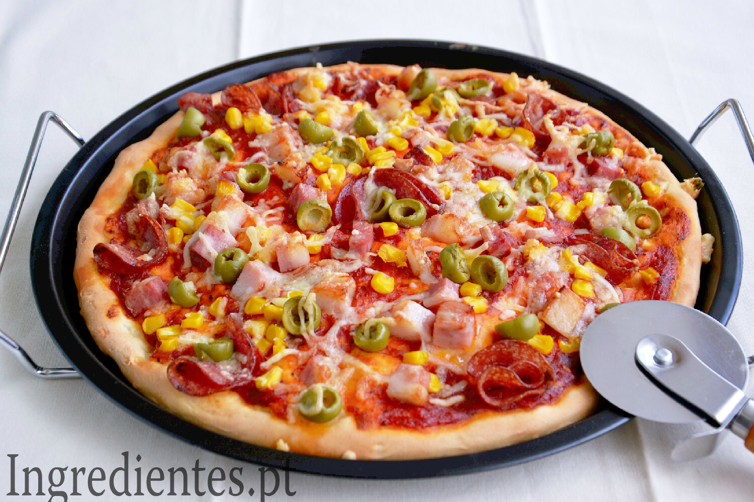 Pizza de Massa Fofa