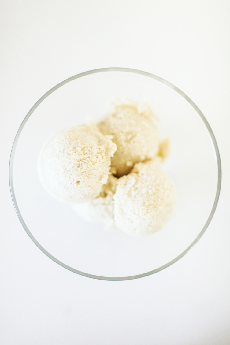 "Low Carb Ice Cream: Creamy Coconut ""Get Some"" Ice Cream"