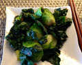 Thai-style Brussels and Kale