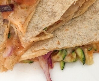 RECEPT | LOW CARB QUESADILLA'S