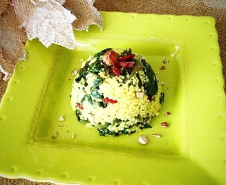Miglio e spinaci in agrodolce | Sweet-and-sour millet with spinach