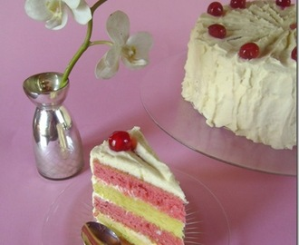 Recept på Lemon & Raspberry cake