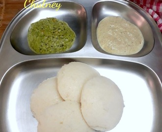 Kothamalli Thengai Chutney | How to make Coriander Coconut Chutney