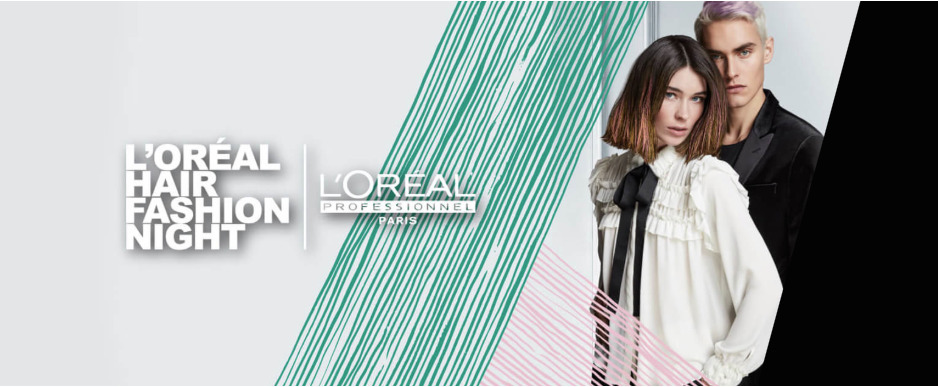 Gratis color & styling bij de L'Óreal Professionel Hair Fashion Night