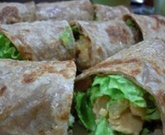 Chapati Wrap Recipe