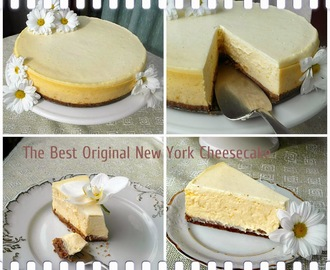 Nowojorski sernik - The Best Original New York Cheesecake