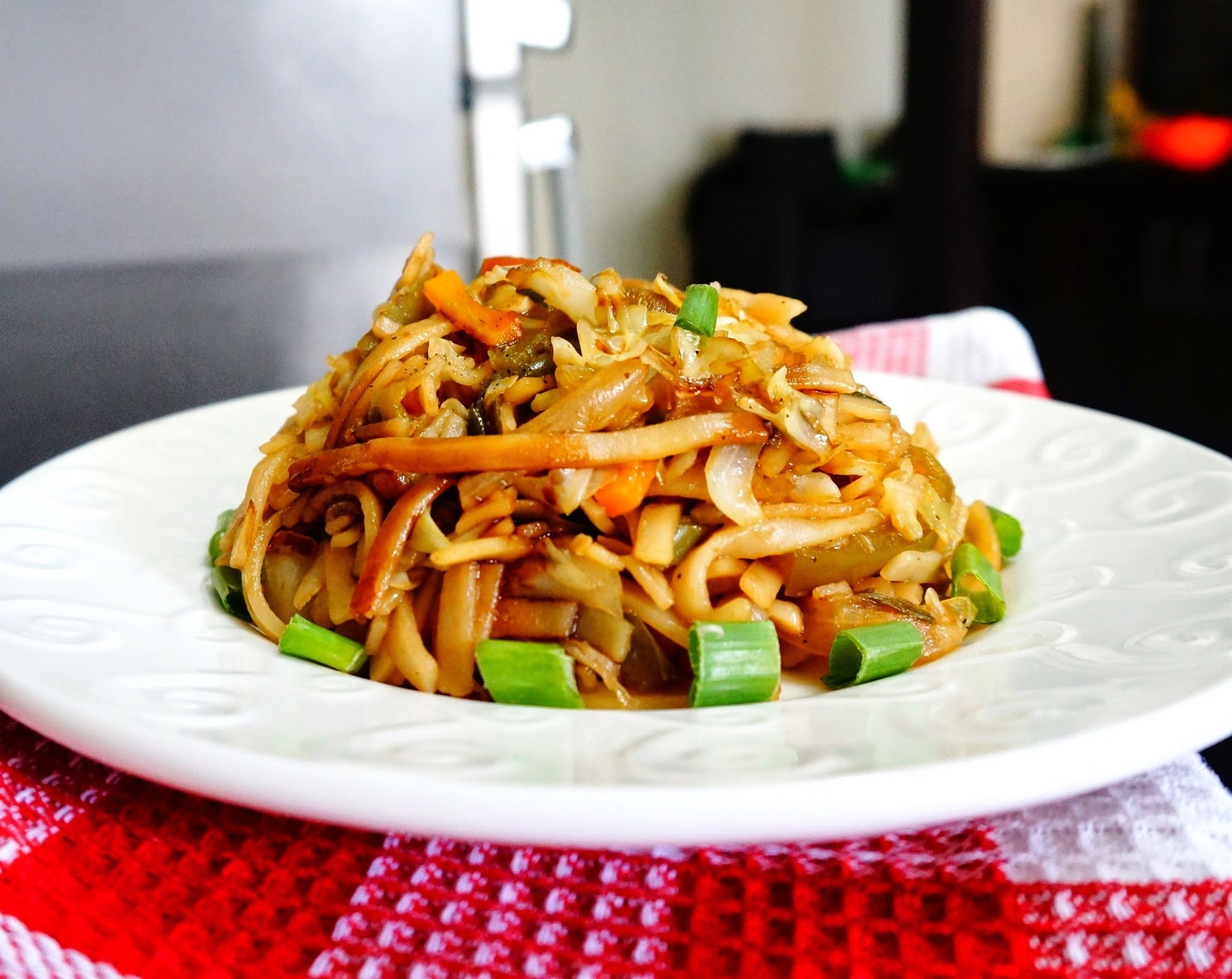 Recipe of Thai Rice vegetable noodles