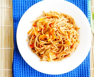 Recipe of Whole Wheat Vegetable Noodles