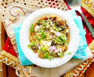 Recipe of Aloo Tikki Chole | Tikki chaat