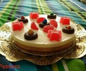 TARTA TRES CHOCOLATES EN THERMOMIX ®