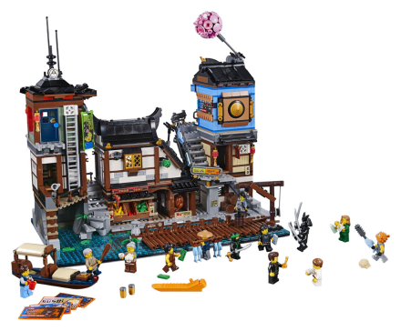 NINJAGO® City Port - LEGO Ninjago 70657
