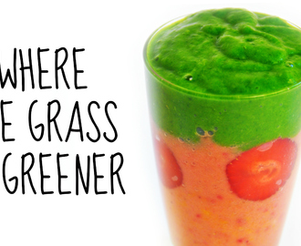 Where the Gras is Greener Smoothie Recipe