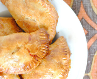 Baked Empanadas with Slow Cooker Pork Carnitas Filling