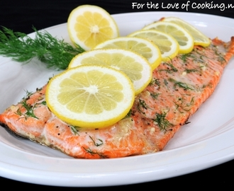 Salmon and Dill Sauce
