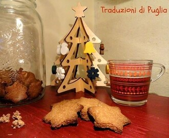 Biscotti con farina di orzo e latte di riso (cookies with barley flour and rice milk)