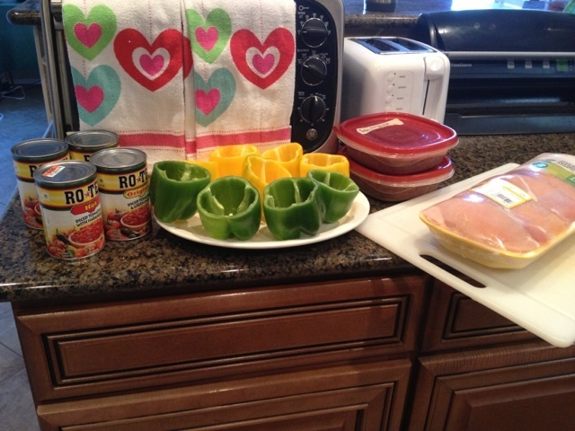 How To Make Your Own Ground Chicken for Chicken Stuffed Peppers Mexican Style