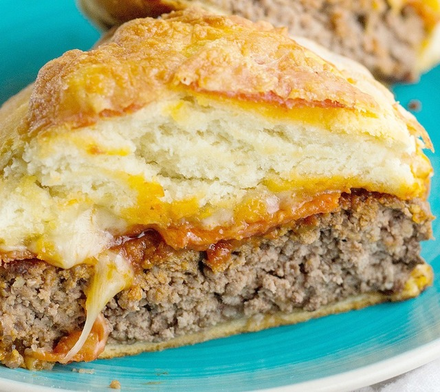 Low Carb Pizza Burger