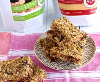 High-Fiber Cranberry Chocolate Granola Bars & An Awake Cereals Giveaway!
