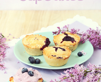 Double Blueberry Pie Cupcakes – doppelter Blaubeer-Genuss