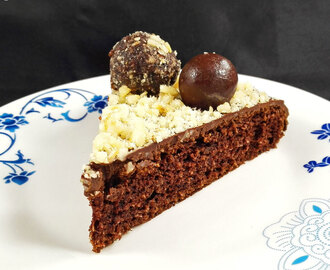 My Ferrero Rocher Inspired Cake