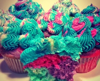 Cotton Candy Cupcake Recipe!