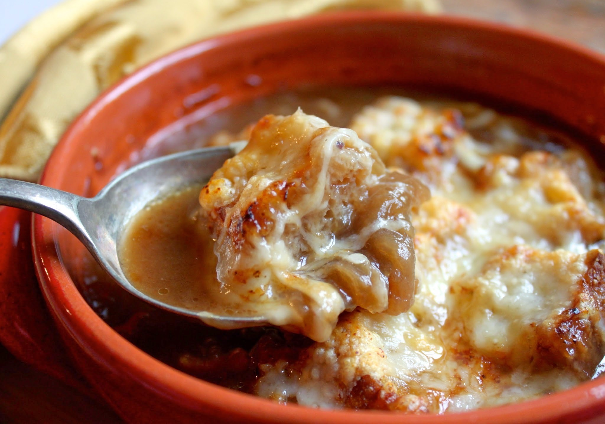 French Onion Soup ~ the way Julia made it, sort of...