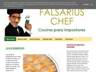 Falsarius Chef
