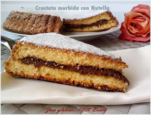 Crostata morbida con nutella